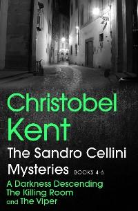 Cover The Sandro Cellini Mysteries, Books 4-6