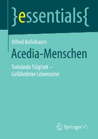 Cover Acedia-Menschen