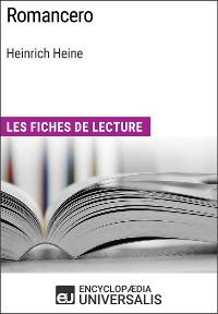 Cover Romancero d'Heinrich Heine