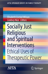 Cover Socially Just Religious and Spiritual Interventions