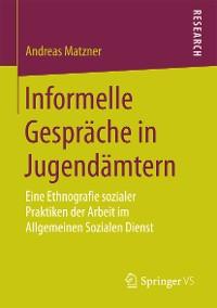 Cover Informelle Gespräche in Jugendämtern