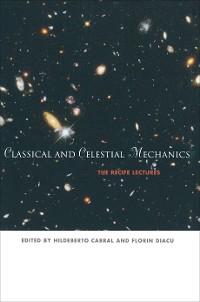 Cover Classical and Celestial Mechanics