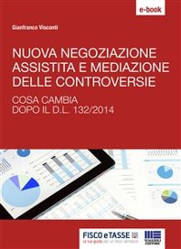 Cover Nuova negoziazione assistita e mediazione delle controversie