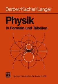 Cover Physik in Formeln und Tabellen