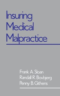 Cover Insuring Medical Malpractice