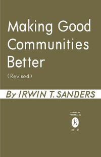 Cover Making Good Communities Better