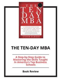 Cover The Ten-Day MBA