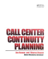 Cover Call Center Continuity Planning