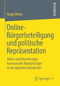 Cover Online-Bürgerbeteiligung und politische Repräsentation