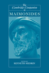 Cover Cambridge Companion to Maimonides