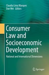 Cover Consumer Law and Socioeconomic Development