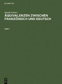 Cover Äquivalenzen zwischen Französisch und Deutsch