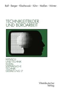 Cover Technikleitbilder und Buroarbeit
