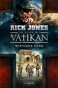 Cover BLUTIGER SAND (Die Ritter des Vatikan 8)