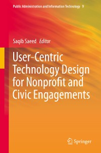 Cover User-Centric Technology Design for Nonprofit and Civic Engagements