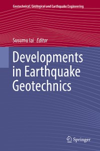 Cover Developments in Earthquake Geotechnics