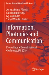 Cover Information, Photonics and Communication