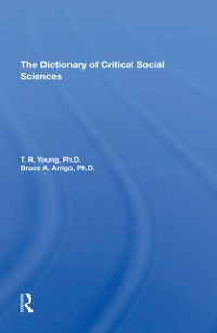 Cover Dictionary Of Critical Social Sciences