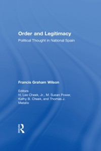 Cover Order and Legitimacy