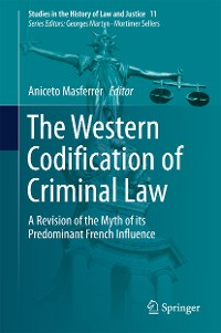 Cover The Western Codification of Criminal Law
