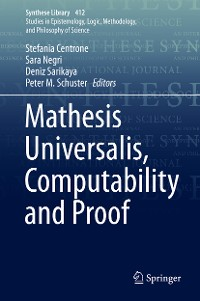 Cover Mathesis Universalis, Computability and Proof