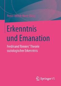 Cover Erkenntnis und Emanation