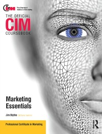 Cover CIM Coursebook Marketing Essentials