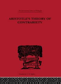 Cover Aristotle's Theory of Contrariety