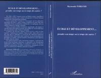 Cover Ecole et developpement