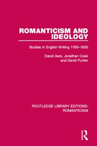 Cover Romanticism and Ideology