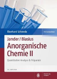 Cover Jander/Blasius, Anorganische Chemie II