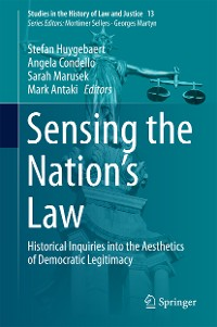 Cover Sensing the Nation's Law