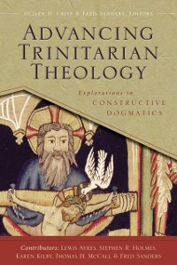 Cover Advancing Trinitarian Theology