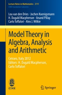 Cover Model Theory in Algebra, Analysis and Arithmetic