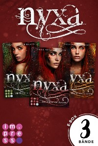 Cover Nyxa: Sammelband der drachenstarken Fantasy-Serie (Band 1-3)