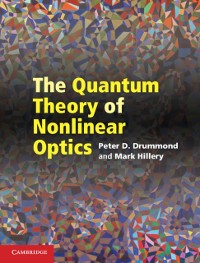 Cover Quantum Theory of Nonlinear Optics