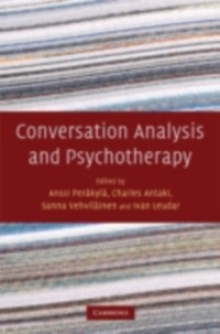 Cover Conversation Analysis and Psychotherapy