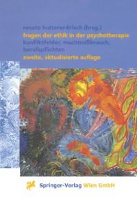 Cover Fragen der Ethik in der Psychotherapie