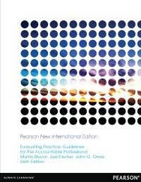Cover Evaluating Practice: Pearson New International Edition