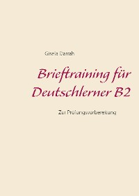 Cover Brieftraining für Deutschlerner B2