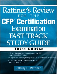 Cover Rattiner's Review for the CFP(R) Certification Examination, Fast Track, Study Guide