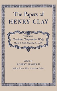 Cover The Papers of Henry Clay