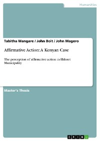 Cover Affirmative Action: A Kenyan Case