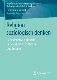 Cover Religion soziologisch denken