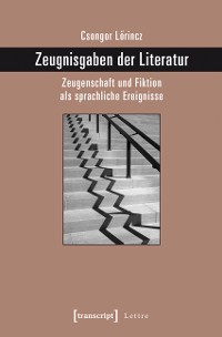Cover Zeugnisgaben der Literatur