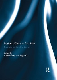 Cover Business Ethics in East Asia