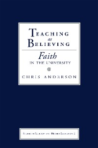 Cover Teaching as Believing