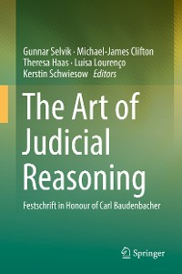 Cover The Art of Judicial Reasoning