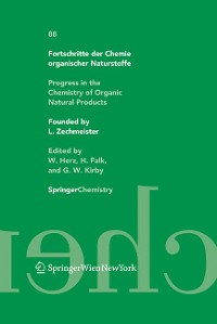 Cover Fortschritte der Chemie organischer Naturstoffe / Progress in the Chemistry of Organic Natural Products 88
