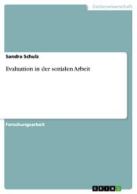 Cover Evaluation in der sozialen Arbeit